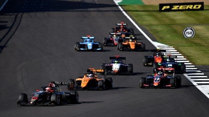 Everything is ready at Silverstone for the fifth round of the FIA Formula 3 Championship.