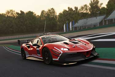 The Esports championship will be contested on the critically acclaimed  'Assetto Corsa' software, developed by Kunos Simulazioni, and will be raced in a Ferrari 488 Challenge Evo, available exclusively for those taking part in the competition.
