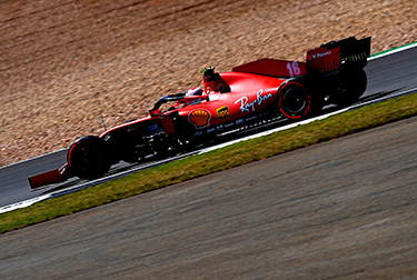 The final moments of the second free practice session for the Formula 1 70thAnniversary Grand Prix did not go to plan for Scuderia Ferrari