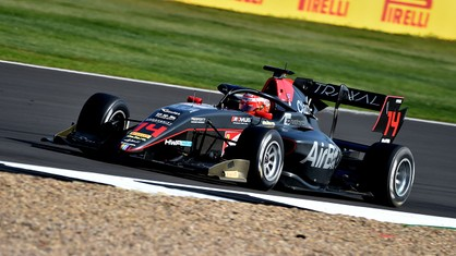 Enzo Fittipaldi got his third top ten finish of the season, his first ever points at Silverstone, in today's FIA Formula 3 race.