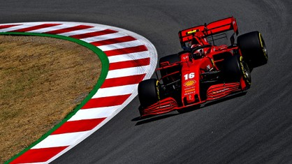 With track temperatures around the 50 degree mark, Charles Leclerc and Sebastian Vettel were sixth and twelfth fastest in the second free practice session for the Spanish Grand Prix.