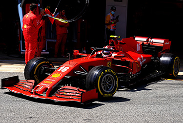 Ferrari SF1000: 2020 Spanish GP, free practice day