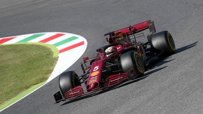 Charles Leclerc and Sebastian Vettel finished the Toscana-Ferrari 1000 Grand Prix at the Mugello circuit in eighth and tenth places respectively.