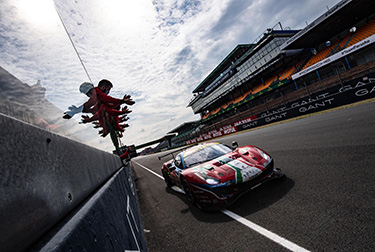 The Ferrari 488 GTE no. 51 was second over the line in the LMGTE Pro class, while no. 83 came third in the LMGTE Am at the end of the eightyeighth edition of the 24 Hours of Le Mans.