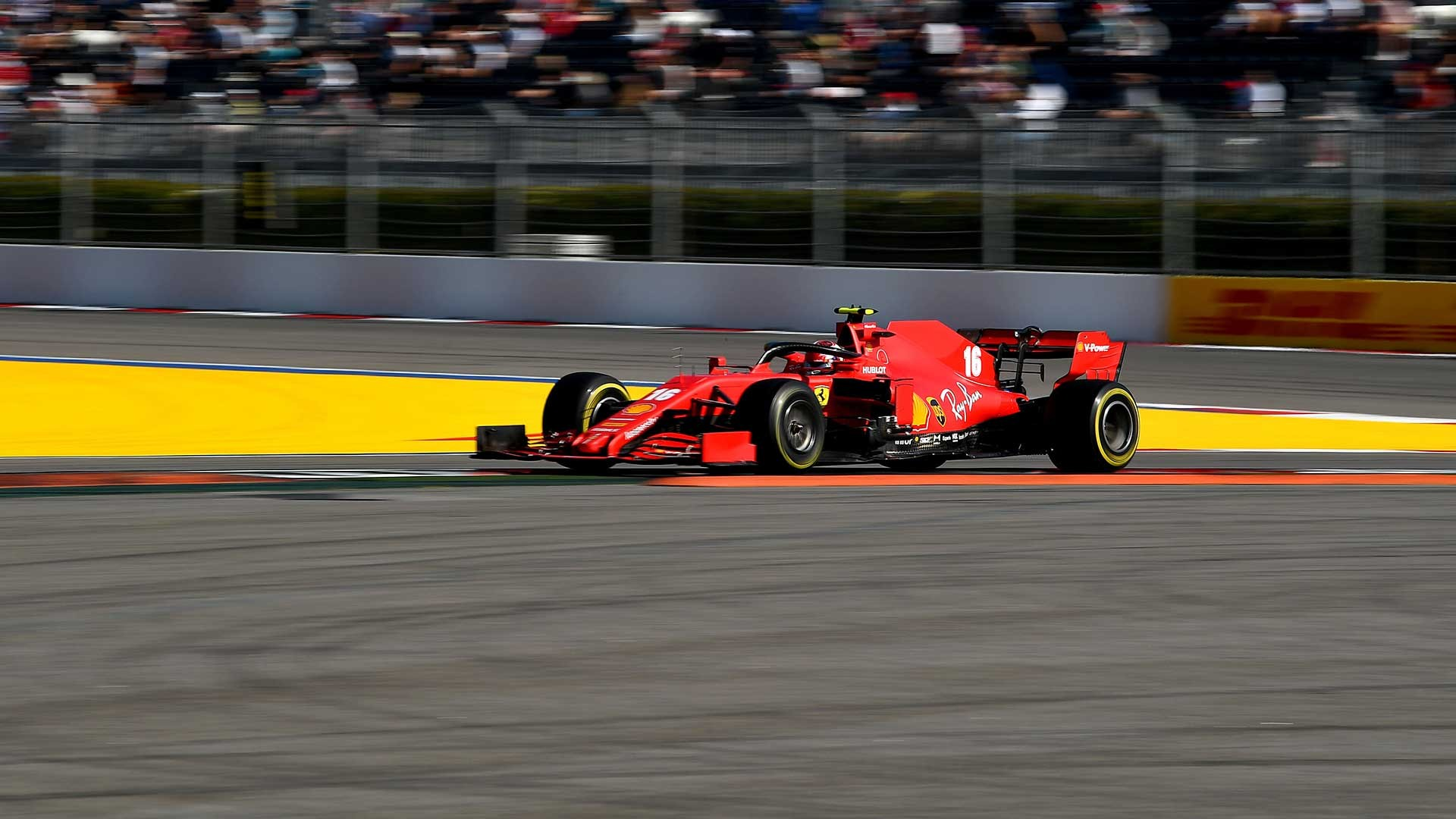 Scuderia Ferrari leaves Sochi with a sixth place courtesy of Charles Leclerc and a 13th with Sebastian Vettel, after a relatively straightforward race, apart from two incidents on the opening lap that brought out the Safety Car.