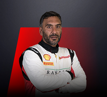 Lucky Khera, driver in Ferrari Challenge UK - Great Britain.