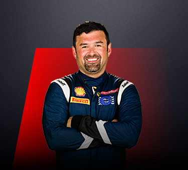 Ross Chouest, driver in Ferrari Challenge Europe - USA