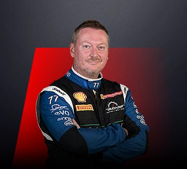 Paul Simmerson, driver in Ferrari Challenge UK - Great Britain.