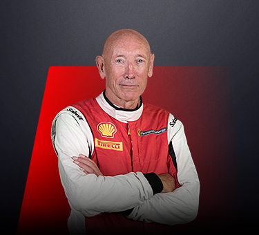 Paul Stevens, driver in Ferrari Challenge UK - Great Britain.