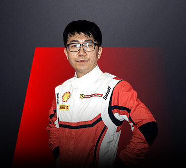 Jay Park, driver in Ferrari Challenge APAC - Republic of Korea.
