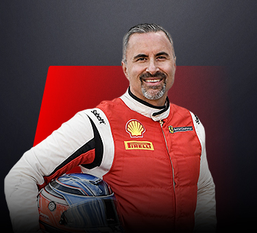 Christopher Cagnazzi, driver in Ferrari Challenge Europe - USA