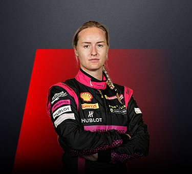 Michelle Gatting, driver in Ferrari Challenge Europe - Denmark.