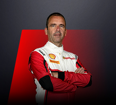 Roger Grouwels, driver in Ferrari Challenge Europe - Netherlands.