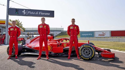 This was a day to remember for Robert Shwartzman, Callum Ilott and Mick Schumacher at the Fiorano track.