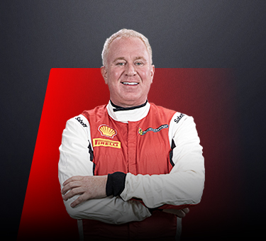 Ian Campbell, driver in Ferrari Challenge Europe - USA