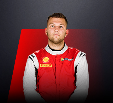 Dave Musial Jr, driver in Ferrari Challenge Europe - USA