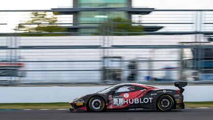 With the SRO GT World Challenge America Pro-Am championship in hand for Ferrari at the three-hour mark, Squadra Corse came through with another second-place finish in its category in the Indianapolis 8 Hour.