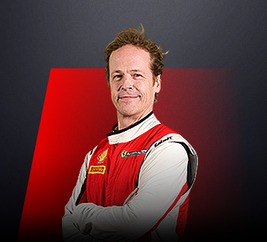 Christian Kinch, driver in Ferrari Challenge Europe - Sweden.