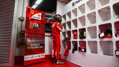 Six youngsters from around the world took part in the hope of being accepted into the Maranello marque's programme for aspiring racing drivers