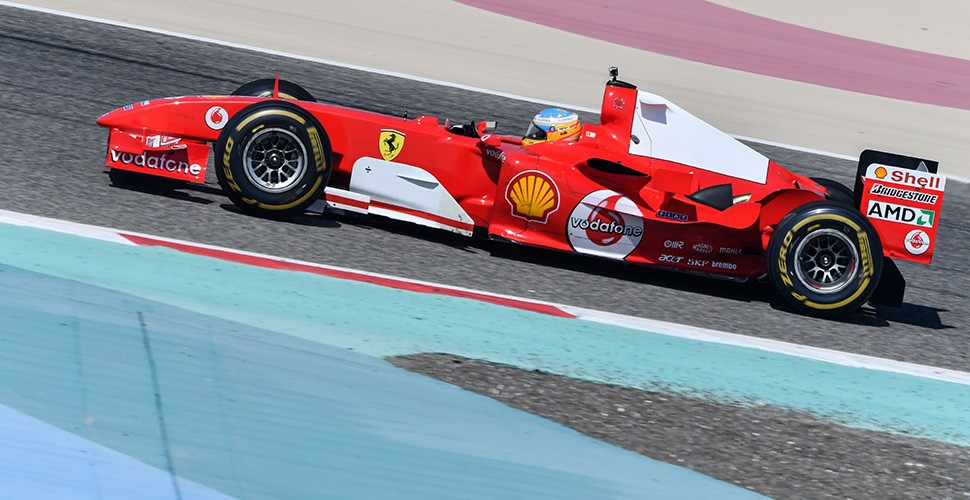 F2004 Returns To Site Of Memorable One Two