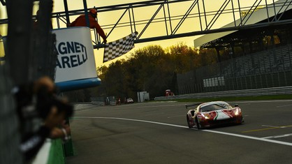 The last race of the Italian GT Endurance Championship season ended with two victories and two titles.