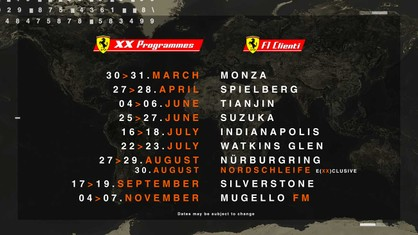 XX Programmes and F1 Clienti 2021