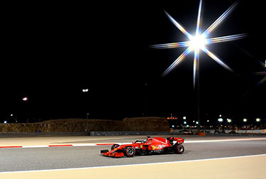 Scuderia Ferrari had a more difficult time of it than expected during Friday free practice for the Sakhir Grand Prix on the Outer Track of the Bahrain International Circuit.