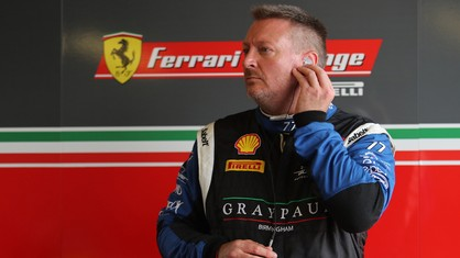 The Graypaul Birmingham driver concluded an excellent season in the Ferrari Challenge UK.