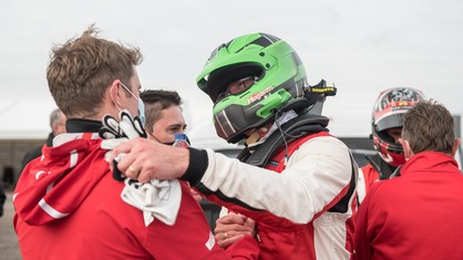 We met the Stratstone Manchester driver, who finished third in this year's Ferrari Challenge UK Trofeo Pirelli, to find out how his passion for the Ferrari one-make competition arose after a career of almost twenty years in the racing world.