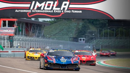 Italian motorsport returned with the opening round of the Ferrari Challenge and appearances from the stars of the European series