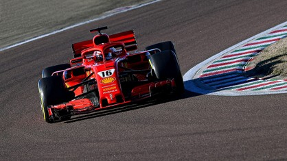 At 9.30 on the dot this morning, Charles Leclerc drove out of the pits at Fiorano for an installation lap in the 2018 SF71H, thus getting Scuderia Ferrari's 2021 season properly underway.