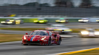 Ferrari finished the 24 Hours of Daytona with a fourth place in the GTLM class and more than a few regrets.