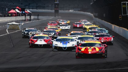 Ferrari Challenge made its triumphant return from the pandemic enforced hiatus at the Indianapolis Motor Speedway with an excellent grid of drivers and their Ferrari 488 Challenge Evo race cars ready to get back to action after four months away.
