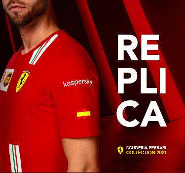 Scuderia Ferrari REPLICA 2021 - Now you can join the team too.