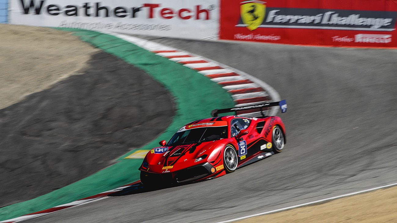 Weathertech Raceway Laguna Seca was home of the fifth round of Ferrari Challenge competition in North America.