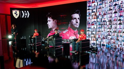 Scuderia Ferrari Mission Winnow presented the 2021 team in an on-line event