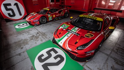 The livery of the 488 GTEs that will compete in next season's FIA World Endurance Championship was unveiled against the backdrop of the Ferrari Finali Mondiali, currently in progress at the Misano World Circuit Marco Simoncelli.