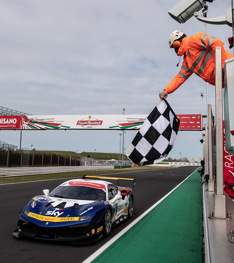 The second day of competition of the Finali Mondiali Ferrari has concluded at the Misano World Circuit Marco Simoncelli.