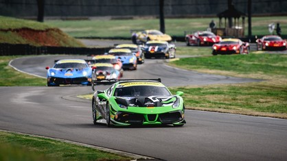 Ferrari Challenge North America - First Round of Racing Complete for Ferrari Challenge NA