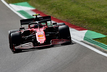 Carlos Sainz and Charles Leclerc were fourth and fifth fastest respectively in the second free practice session for the Made in Italy e dell'Emilia-Romagna Grand Prix, taking place at the Enzo and Dino Ferrari circuit in Imola.