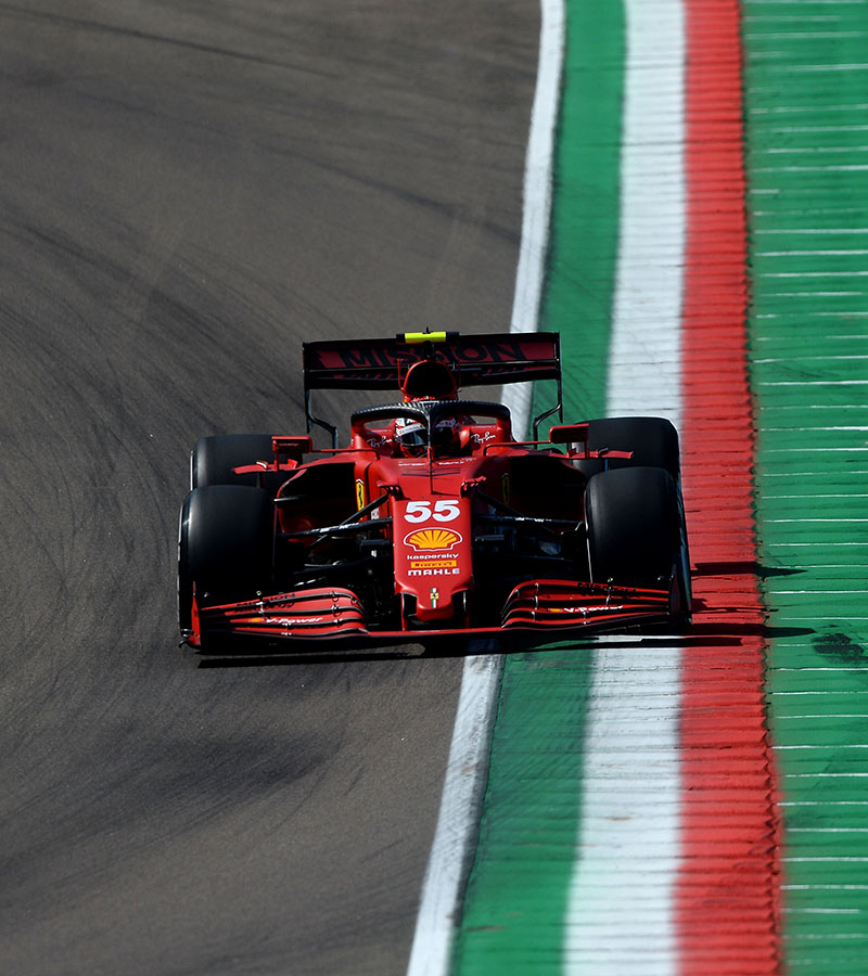 Scuderia Ferrari Mission Winnow had a busy Friday at the Enzo e Dino Ferrari circuit, home to the Made in Italy e dell'Emilia-Romagna Grand Prix.