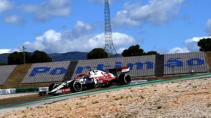 200 days on from when Callum Ilott was due to make his Formula 1 debut, he finally did so yesterday, taking part in the morning free practice session for the Portuguese Grand Prix at the Algarve International Circuit, at the wheel of an Alfa Romeo Racing C41.