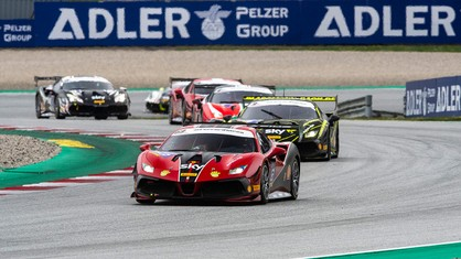 At Monza, Sergio Paulet had surprisingly clinched the top of the Trofeo Pirelli Am class standings. The Spanish rookie gave further proof of his prowess at the Austrian Spielberg track, by once again managing to win after an excellent comeback and a second place.